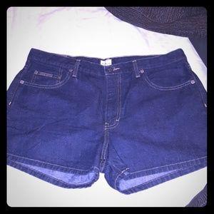 Denim jean shorts Calvin Klein jeans